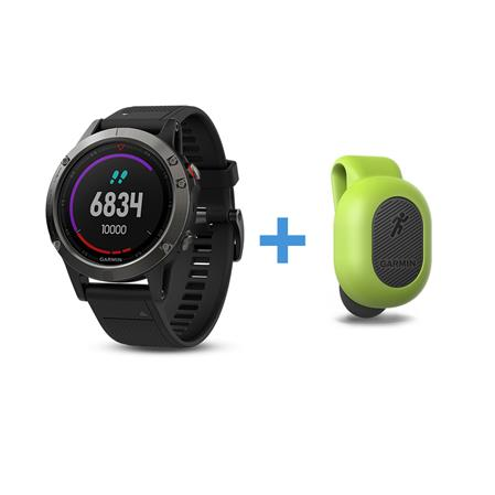 Fenix 5 + Dynamic Running Pod